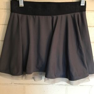 Reebok Tennis Skirt XS Grey Ball Pocket Nice!